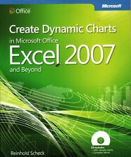 Create Dynamic Charts Microsoft Office Excel 2007 and Beyond & CD New in package