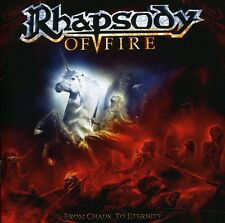 Rhapsody of Fire - From Chaos to Eternity [New CD]