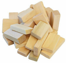 Natural Wooden Building Block Set Waldorf Homeschool Toddler Toy USA Made Blocks