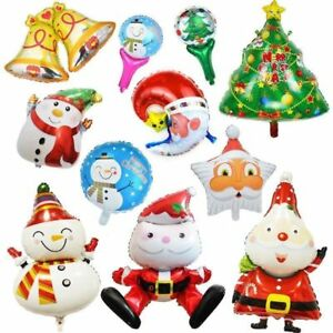 Heart Bell Aluminum Foil Balloons Christmas Party Birthday Decoration WST