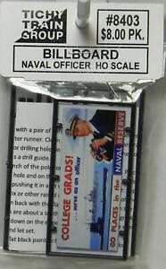 Neuf-Ho-Tichy-8403-Naval-Officier-Panneau-D-039-Affichage-Kit