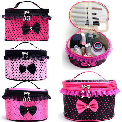 Women Multifunction Travel Cosmetic Bag Makeup Case Pouch Toiletry Organizer 1PC