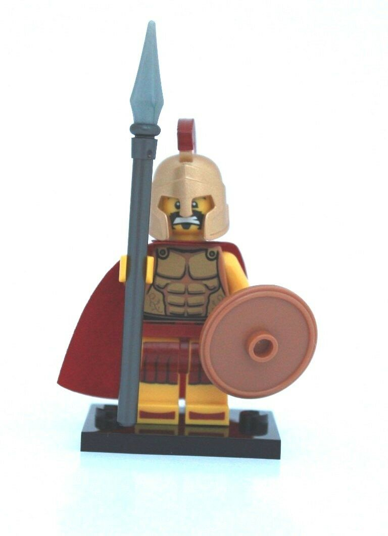 NEW LEGO MINIFIGURES SERIES 2 2 2 8684 - Spartan Warrior 561ff5