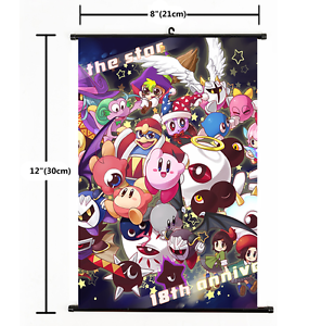 2286 Hot Anime Game Kirby Series Wall Scroll Poster cosplay Gift A