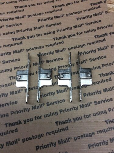 LOT OF 4 NEW INDAUX KITCHEN DRAWER FIXING BRACKETS