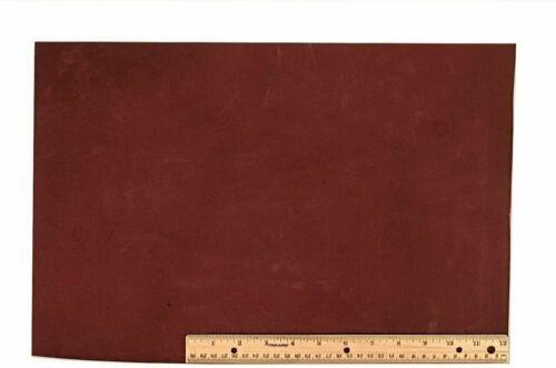 "Scrap Lace Leather Medium Brown Cowhide 12/"" X 18/"" Piece"