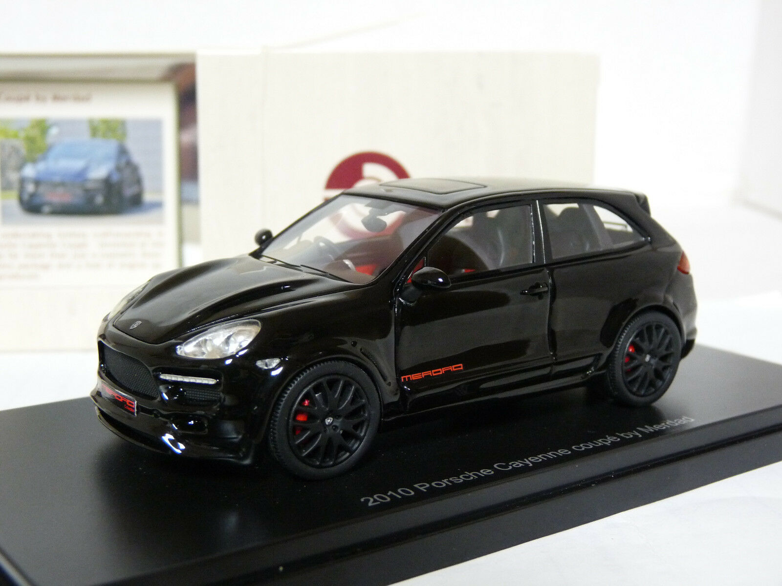 Esval EMEU43016A 1 43 2010 Porsche Cayenne Coupe by Merdad Resin Model Car
