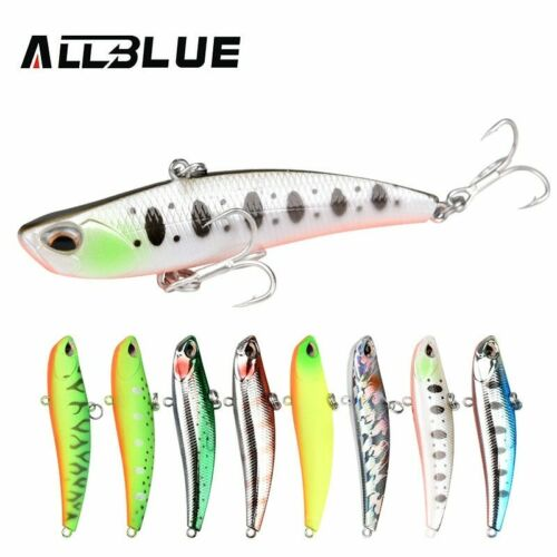 ALLBLUE® Fishing Lure Blade 70S Sinking Vibration Lure Hard Plastic  Artificial