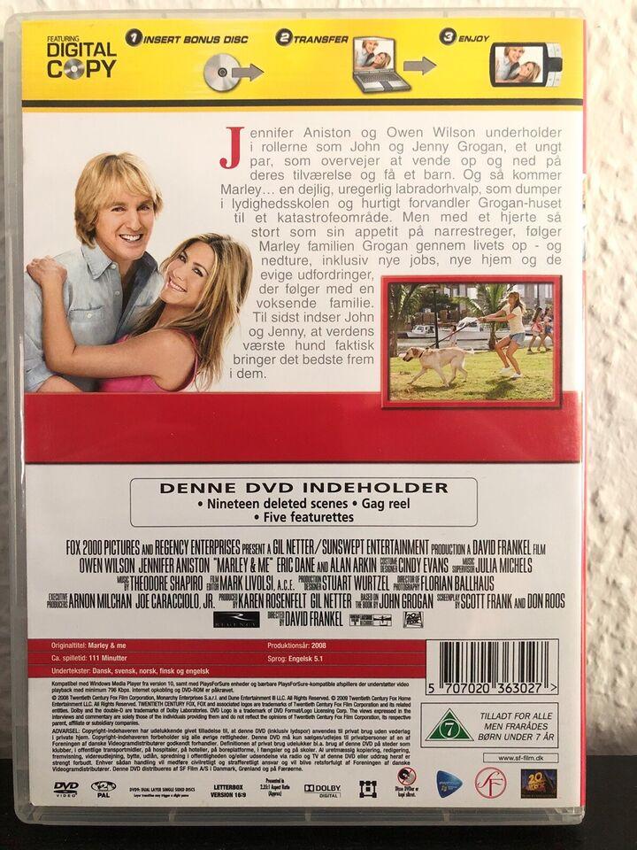 Marley & Me, DVD, drama