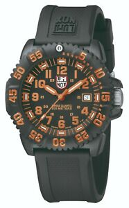 Luminox US Navy SEAL Colormark Men's Swiss Quartz Rotating Bezel 44mm 3059LUM