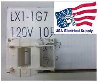 Telemecanique Schneider Coil Lx1-d1g7 120vac Contactor Lc1d09-lc1d38