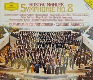 Mahler-Philharmoniker-Abbado-Symphonie-No-8-x2-CD-ALBUM