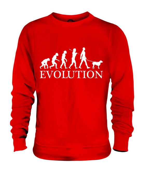 SPINONE ITALIANO EVOLUTION DES DES DES MENSCHEN UND HUND UNISEX PULLI HERREN DAMEN | Fairer Preis  | Primäre Qualität  | Lass unsere Waren in die Welt gehen  d9db68