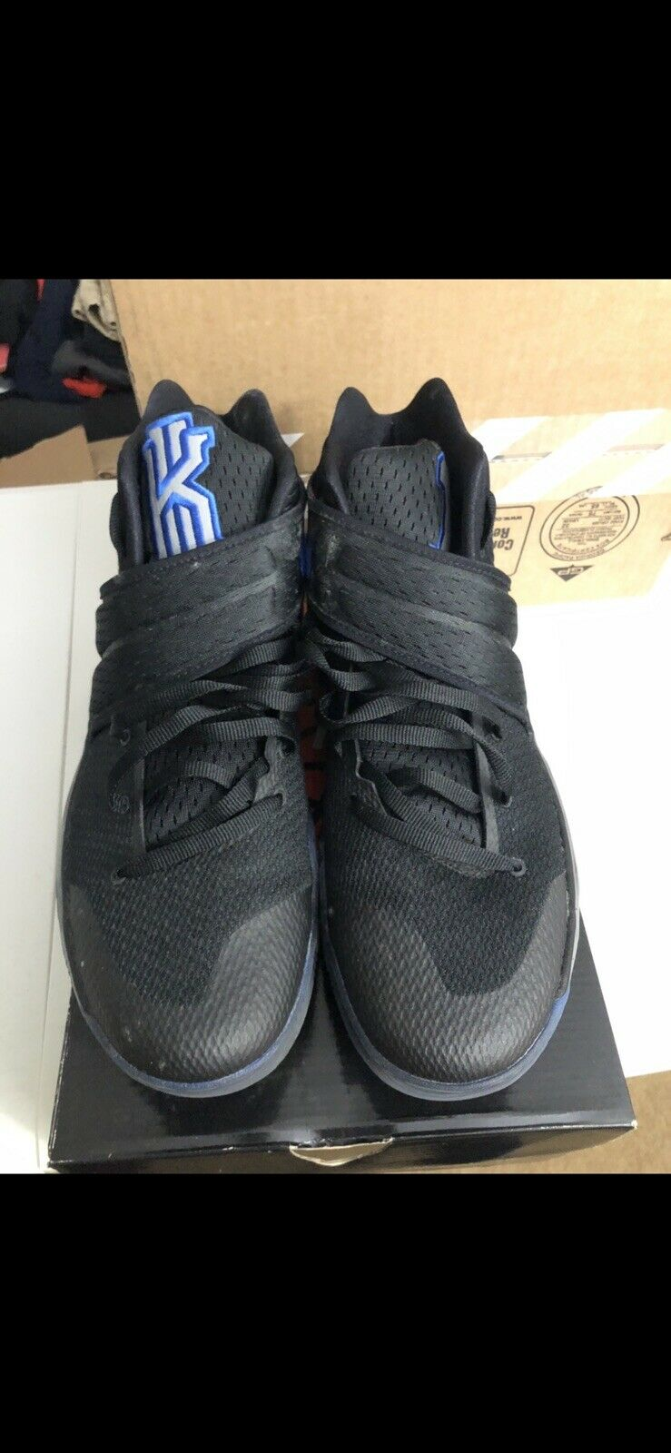 detailed look 8cbce b2764 Nike Kyrie 2 DUKE size 14. PE Blue Devils. 838639-001 QS LTD LIMITED. Black  3M.