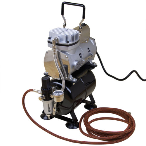 Kompressor Airbrush Sparmax TC-610H-n mit Tank Druckluft Kompressoren