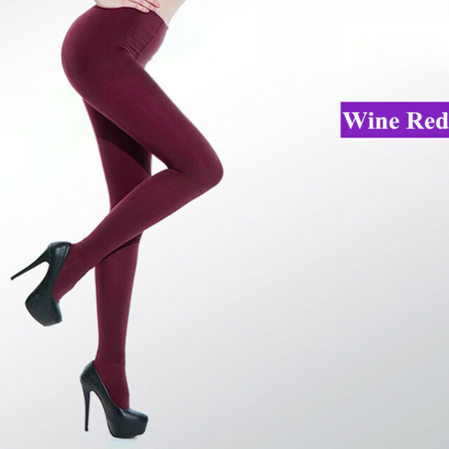 NEW Beauty 8 Colors Opaque Footed Tights Sexy Women's Pantyhose Stockings Socks