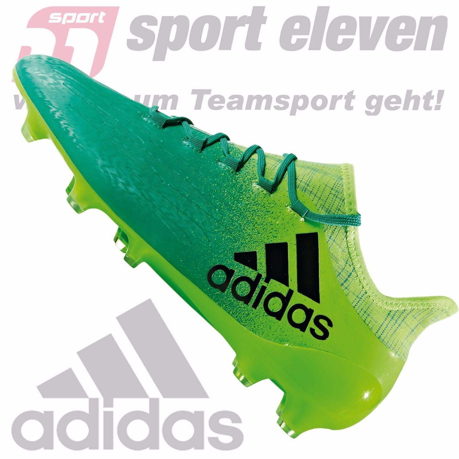 Adidas Fußballschuhe X X X 16.2 FG grün türkis schwarz - BB5850 ed53bd