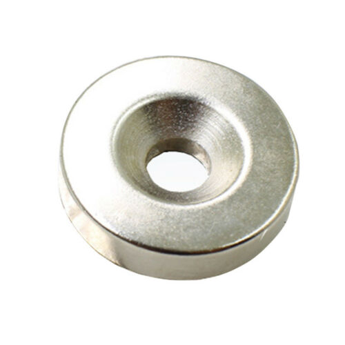5-50pcs N50 Strong Round Ring Magnets 20mm x 4mm Hole 5mm Rare Earth Neodymium