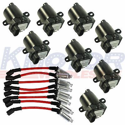 Ignition Coils /& Plug Pack UF262 D585 For GMC Chevy Silverado LS1 LS3 4.8L 5.3L