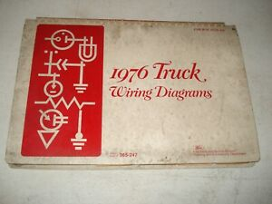 1976 FORD TRUCK WIRING DIAGRAMS SERVICE MANUAL F SERIES ...