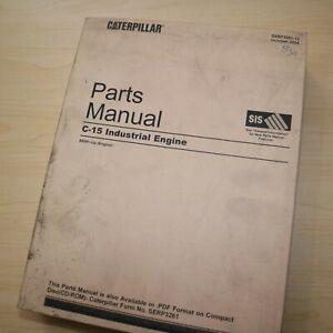 CAT Caterpillar C15 Diesel Engine Parts Manual Book Catalog BEM list series 2004