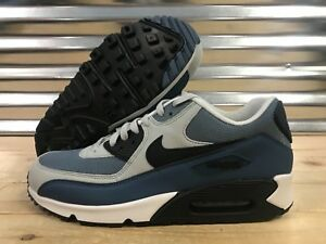size 40 d37ee cbd32 Image is loading Nike-Air-Max-90-Essential-Running-Shoes-Grey-