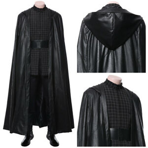 Star Wars 9 The Rise Of Skywalker Kylo Ren Cosplay Costume Halloween Male Outfit Ebay