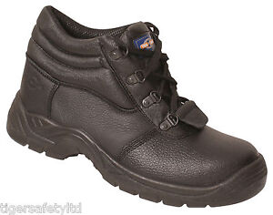 Pro Man PM100 S3 Black Leather Steel