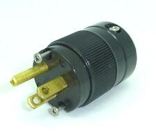 Wattgate 5266i-BLK Plug Black Power cord connector