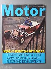 R&L Mag Motor 26 Dec 1970: Citroen SM & GS/Capri 1600 MK1/Model T Hot Rod