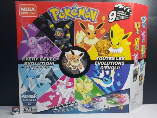 Mega Construx Pokemon Every Eevee Evolution Set Unopened TRUSTED FREE SHIPPING ⭐