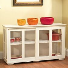 Item 3 Modern Storage Cabinet White Sideboard Buffet Cupboard Pantry Kitchen Dining New