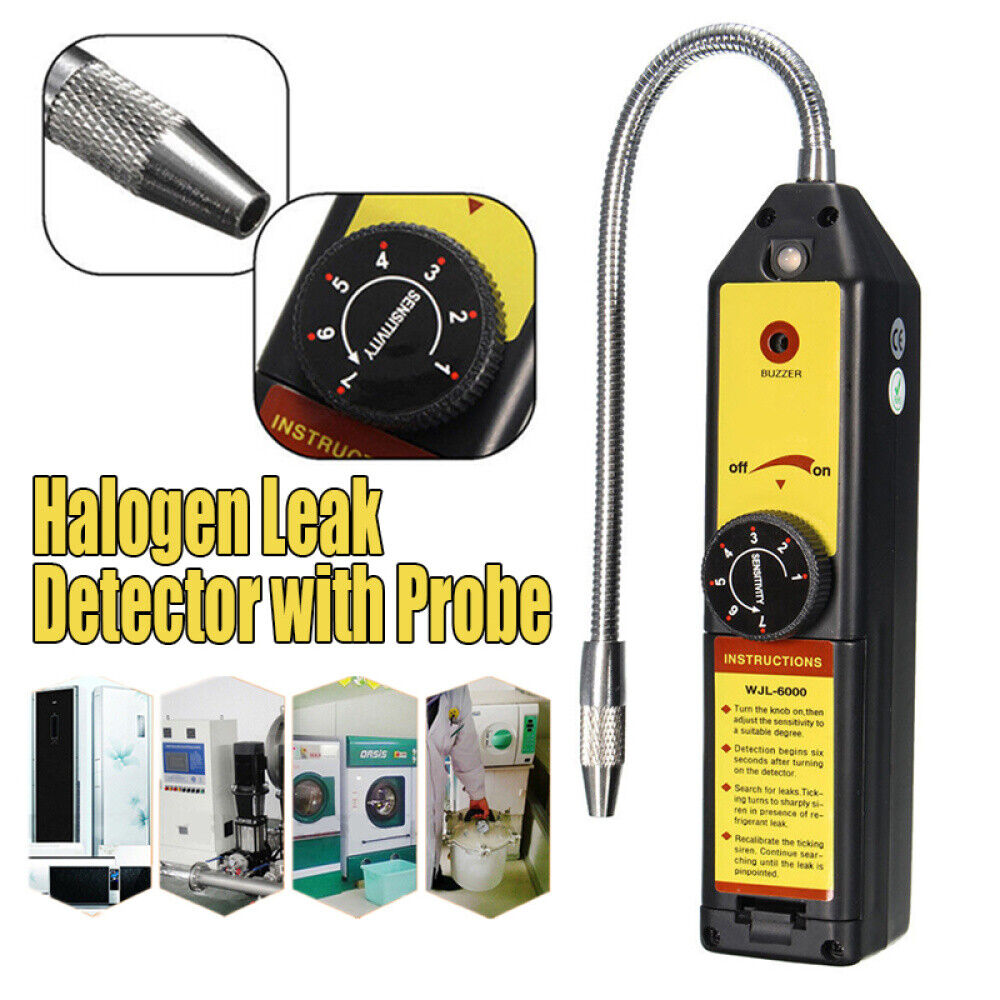 134a ,CFC Refrigerants FREE SHIP Automatic Halogen Leak Detector,Detects all HFC