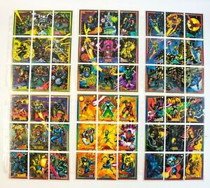 MA5-Lot-Of-1993-Sly-Box-Marvel-Universe-Series-4-135-Trading-Card-Set-1-135