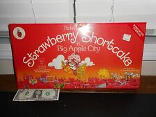 Factory-Sealed 1981 Strawberry Shortcake In Big Apple City Board Game