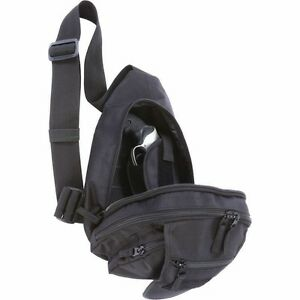 Image Is Loading Black Concealed Hand Gun Holster Sling Bag Day
