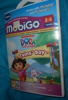 Vtech Mobigo 1 & 2 Dora The Explorer Twins Day - 3-5 Years - New, Sealed