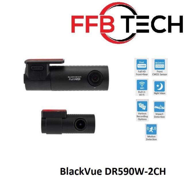 BlackVue DR590W-2CH Full HD Dashcam Sony Starvis Sensor (32GB)
