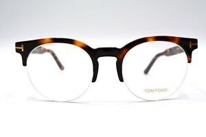 NEW-TOM-FORD-TF5539-056-HAVANA-AMBER-AUTHENTIC-EYEGLASSES-FRAME-RX-52-22-23T