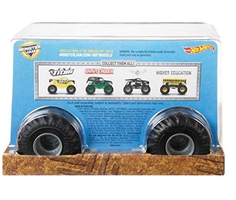 Hot Hot Hot Wheels Mermelada de Monstruo Titan de Metal Cuerpo Metálico Camión 1 24 ad1704
