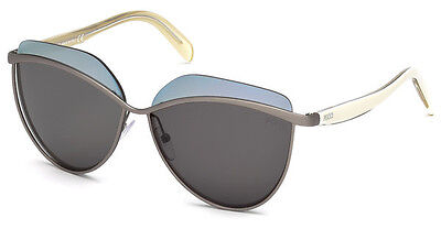 gradient smoke Sunglasses Emilio Pucci EP 0065 01B shiny black