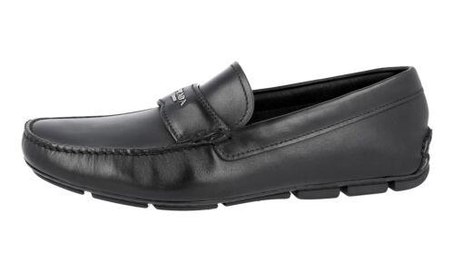 Schwarz Neu Luxus Logo 9 43 5 43 2dd007 New Prada Schuhe Loafer Yr66SXUq