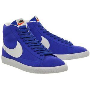 separation shoes 5f8b5 3d8bd Details about Nike Blazer Mid Premium PRM Racer Blue White Gum 429988-401  Skate sb Suede New