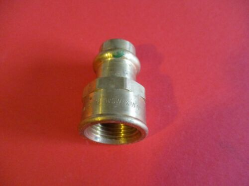 Viega Sanpress Übergangsmuffe 15-18-22-28-35-42-54mm Pressfitting NEU