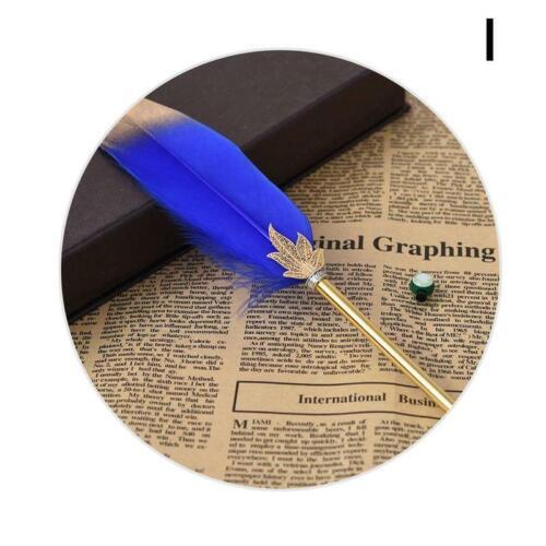 Kawaii Feather Gel Pen Neuheit Cute Pens Geschenk Office School Writing Supplies