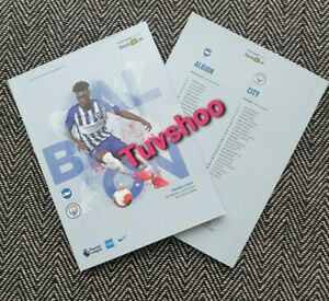 Brighton-v-Manchester-City-LIMITED-Programme-11-7-20-READY-TO-DISPATCH