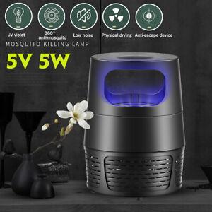 USB-LED-zanzara-Killer-lampada-insetto-Vola-Bug-Zapper-Trappola-Pest-controllo-l