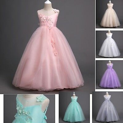 Aktiv Kleid Braut Zeremonie Kleid Mädchen Mädchen Feier Brautjungfer Kleid Cdr078