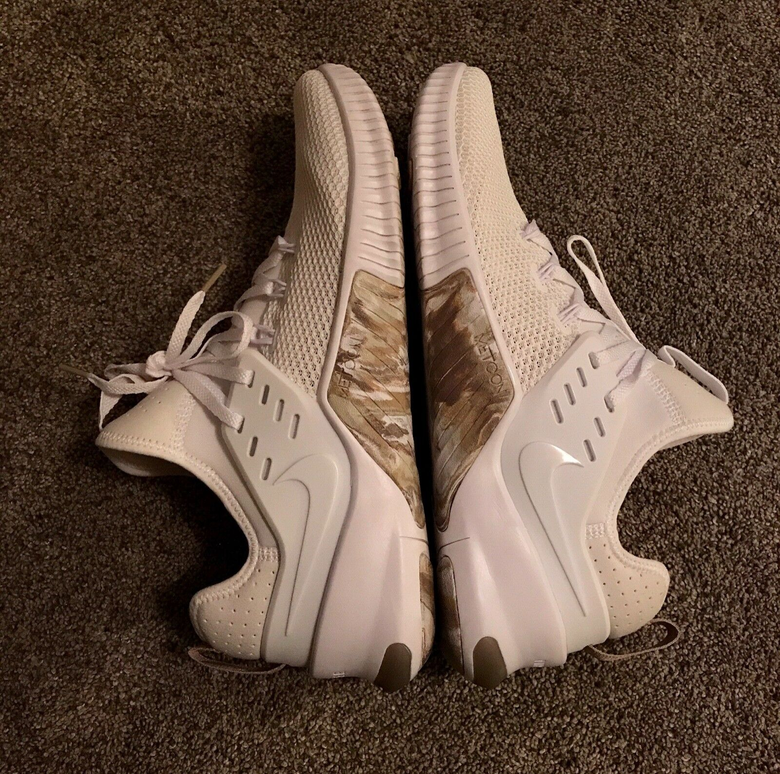 Nike Free Metcon 11 Training Active men's shoe white sand camo
