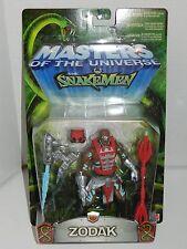 MASTERS OF THE UNIVERSE MOTU HE-MAN SNAKE MEN 2003 ZODAK MOC